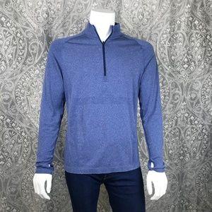 Lululemon 1/2 Zip Pullover Long Sleeve Top Large